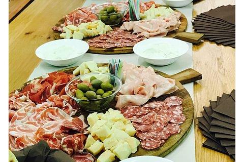 ANTIPASTI ITALIANI - Catering