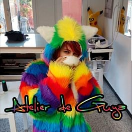 Costume di carnevale Rainbow cat