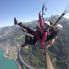 parapente biplace, Paragliding tandem sonchaux