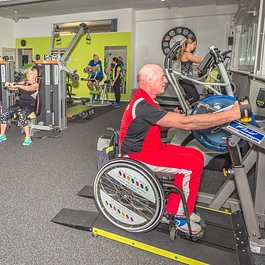 hinterer Trainingsraum by Physiotherapie Wohlen AG