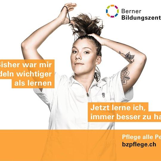 Pflege alle Perspektiven – aktuelle Werbekampagne des BZ Pflege