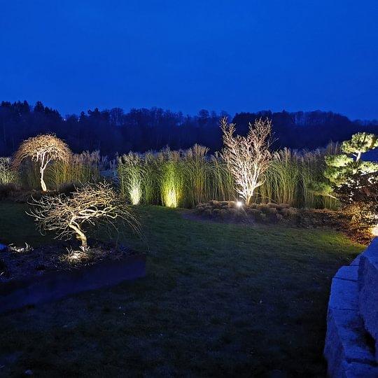 Konzept Gartenbeleuchtung in Bercher 2018