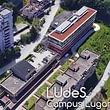 Veduta aerea Campus L.U.de.S. a Lugano