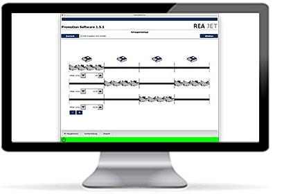REA JET Promotion Software Lösungen