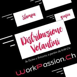 Grafica - Stampa - Distribuzione Volantini