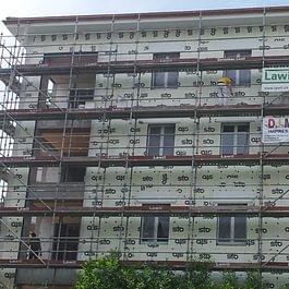 Opere di risanamento facciata, isolazione termica STO