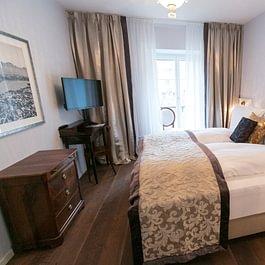 De Luxe Zimmer mit Balkon im 3-Sterne-Superior Boutique Hotel