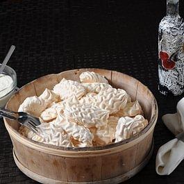 Freiburger Merinques mit Crème de la Gruyère