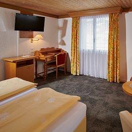 Doppelzimmer Eigersicht, Central Hotel Wolter Grindelwald