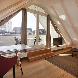 Dom Suite mit Blick auf den Arlesheimer Dom