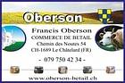 Commerce de bétail Francis Oberson