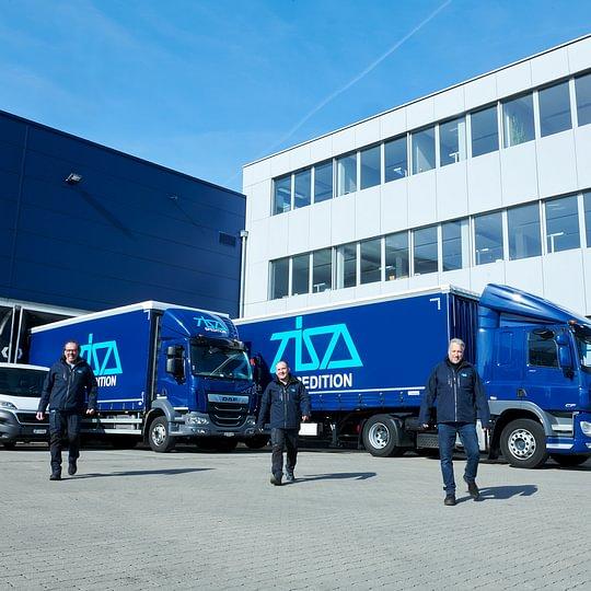 TISA Spedition, Transport, Lagerlogistik und Verzollung an 10 Standorten in CH, AT, DE