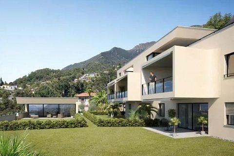 GORDOLA - nuovo appartamento con vista lago