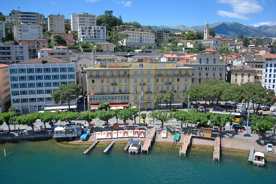 Hotel Walter au Lac, view