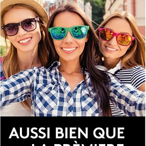 Votre 2ème paire de lunettes en solaire à partir de 31.- CHF