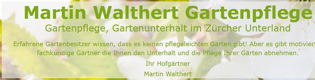 Walthert Martin Gartenpflege
