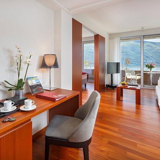 Modern Family Room mit Aussicht - Ascona - Locarno - Tessin