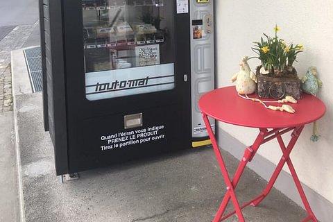 Auto-mat à Fromage