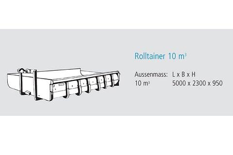 Rolltainer 10 m3