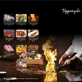 Tépanyaki à volonté