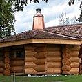 Naturstamm Sauna