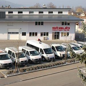 Werkstatt und Bürogebäude