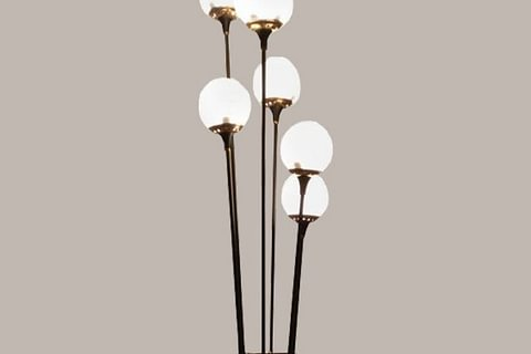 Stilnovo Floor Lamp - Italy, 1950s