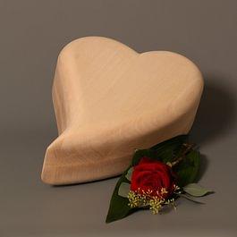 Herz Urne
