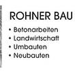 Rohner Bau GmbH - Engishofen - Logo