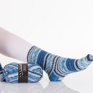 Sockenwolle Trekking von Atelier Zitron