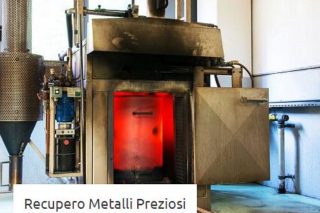 recupero metalli preziosi