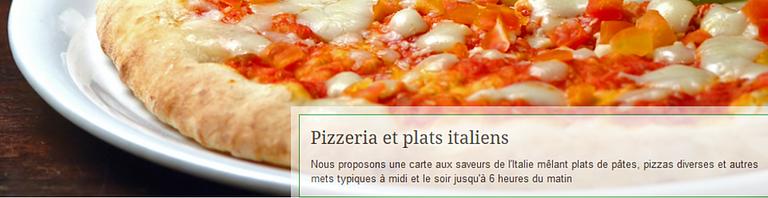 Pizzeria Trattoria de l'Escale