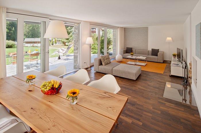 Ground floor apartment with terrace and garden, three bedroom apartment in Zermatt