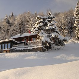 Maiensäss im Winter