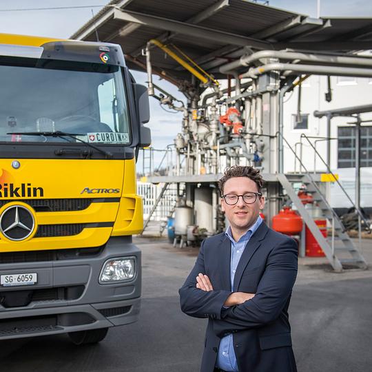 Geschäftsführer Philipp Riklin