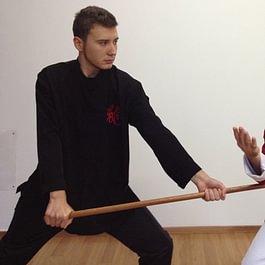 Wing Chun Master Sifu Alberto Marletta