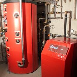 Impianto pompa di calore a geotermia