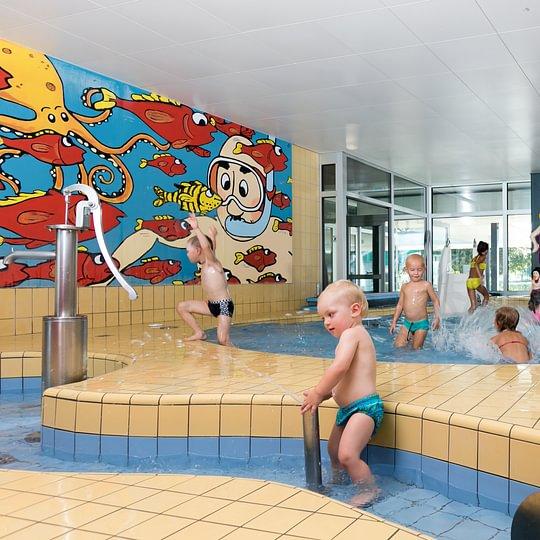 Das Papa Moll Kinderbecken im Thermalbad Zurzach