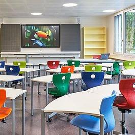 Shift+ espaces scolaires modulables