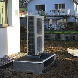 Mons Solar AG, Diepoldsau - Wärmepumpenanlagen
