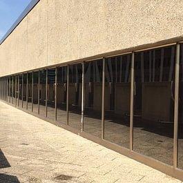 Films solaires sur bâtiment