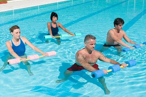 Aquagym et fitness (VO2max)