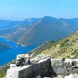 Wandern Montenegro, Fjord von Kotor