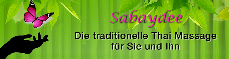 Sabaydee Traditionelle Thai Massage