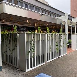 Foodcourt Regensdorf; Restaurantbegrünung