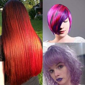 leuchtende Haarfarben für jeden Geschmack