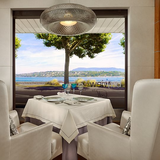 Bayview restaurant by Michel Roth - Hotel President Wilson, A Luxury Collection Hotel, Geneva