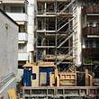 Totalumbau mit Balkonanbauten