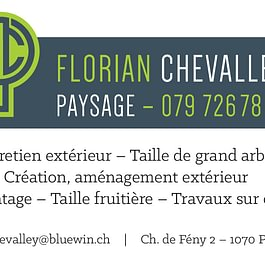 Florian Chevalley Paysage