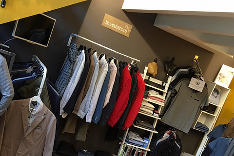 """La boutique """"le vestiaire.ch"""""""